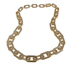 "Rara Avis by Iris Apfel Glitter Chain Link 38"" Necklace"
