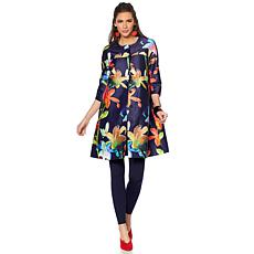 Rara Avis by Iris Apfel Printed Twill Jacket