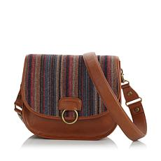 Rara Avis by Iris Apfel Tapestry Saddle Bag