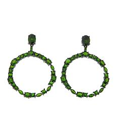 Rarities Chrome Diopside Round Drop Earrings