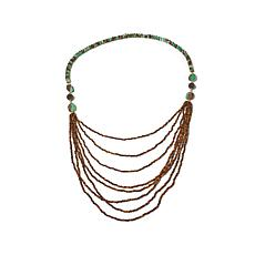 "Rarities Chrysoprase and Multigemstone 30"" Necklace"