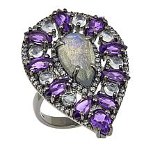 Rarities: Fine Jewelry with Carol Brodie Labradorite and Multigem Ring