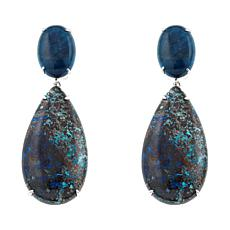 Rarities: Fine Jewelry with Carol Brodie Oval & Pear Gem Drop Earrings