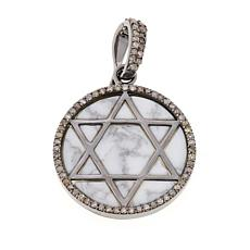 Rarities Star of David Engraved Howlite Enhancer