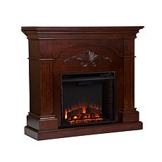Ravenna Electric Fireplace - Mahogany