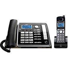 RCA 2-Line Corded/Cordless Expandable Phone System