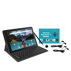 "RCA Pro 10"" HD Quad-Core Tablet with Keyboard, Headphones & App Pack"