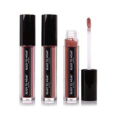 Ready To Wear Plump Up Lip Gloss Trio