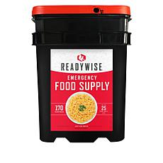 ReadyWise 170-Serving Emergency Meals Preparedness Kit