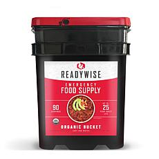 ReadyWise 90-Serving Organic Food Supply Bucket