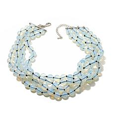Real Collectibles by Adrienne® Clear Bead Necklace