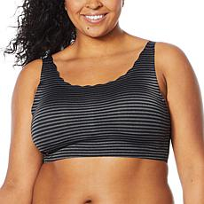 Rhonda Shear 2-pack Striped Body Bra