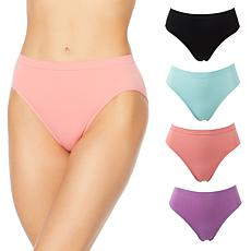 Rhonda Shear 4-pack Ahh Seamless Brief