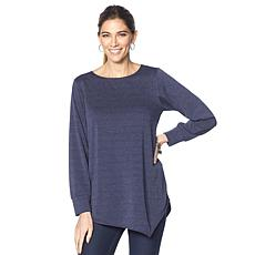 Rhonda Shear Asymmetrical Comfy Top