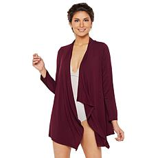 Rhonda Shear Crochet Back Cardigan