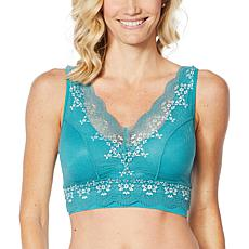 Rhonda Shear Lace Overlay Bra