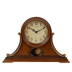 Rhythm Lancaster Wooden Musical Mantel Clock with 7 Music Cartridges
