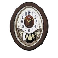 RHYTHM Precious Angels Musical Clock
