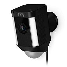 Ring Spotlight HD Camera with 2-Way Talk & Siren Alarm - Wired
