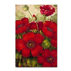 "Rio ""Poppies II"" Canvas Art - 47"" x 30"""