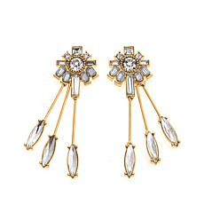 "R.J. Graziano ""On Point"" Crystal Spike Earrings"
