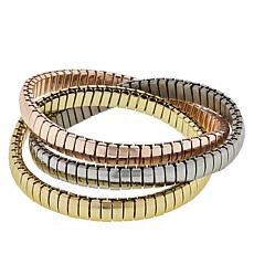 R.J. Graziano Snake Chain Twisted Bracelet