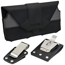 RoadKing Extra-Large Industrial Oversized Cell Phone Case with 2 Clips