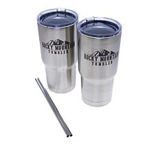 Rocky Mountain 20 oz. Stainless Steel Tumbler 2-pack