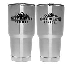 Rocky Mountain 30 oz. Stainless Steel Tumbler 2-pack