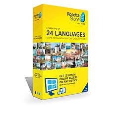 Rosetta Stone Language System 12-Month License on any Device