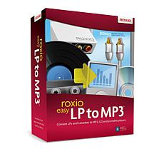 Roxio Easy LP to MP3 Digital Transfer for PC with Cable Kit