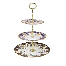 Royal Albert 100 Years Collection 3-Tier Stand - 1900 to 1940