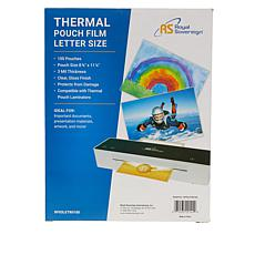 Royal Sovereign 100 Letter-Sized Pouch Laminator Sheets