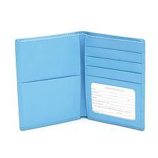 Royce Leather RFID Passport Wallet