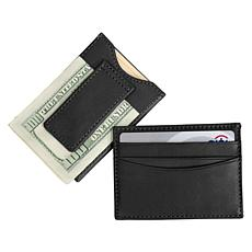 Royce Nappa Leather Magnetic Money Clip Wallet