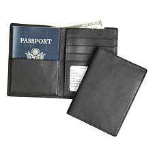 Royce Personalized RFID-Blocking Passport Wallet
