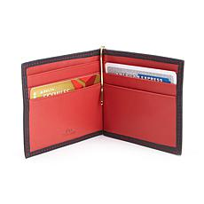 Royce RFID-Blocking Money Clip Credit Card Wallet