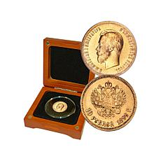 Russian 10-Roubles Random-Year .900 Gold Coin