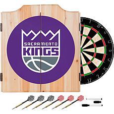 Sacramento Kings NBA Wood Dart Cabinet Set