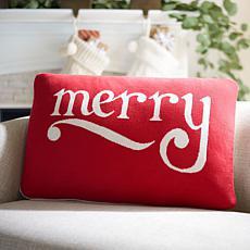 Safavieh Be Merry Pillow