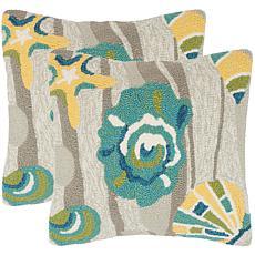 Safavieh Beyond The Sea Outdoor Pillows