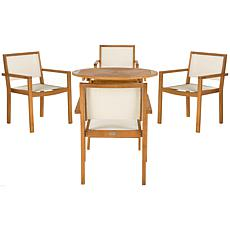 Safavieh Chante Round Table 5-Piece Set