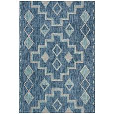 "Safavieh Courtyard Aidan 6'-7"" X 9'-6"" Indoor/Outdoor Rug"