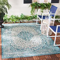 "Safavieh Courtyard Caleb 5'-3"" X 7'-7"" Indoor/Outdoor Rug"