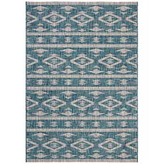 "Safavieh Courtyard Freya 4' X 5'-7"" Indoor/Outdoor Rug"