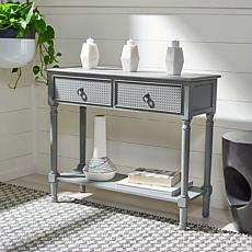 Safavieh Haines 2 Drawer Console Table