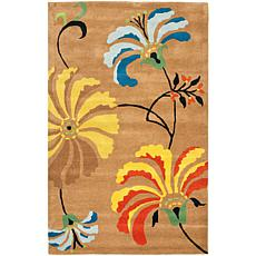 Safavieh Houston Brown-Multi 6' x 9' Rug