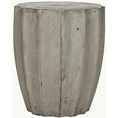Safavieh Jaslyn Concrete Accent Table - Gray