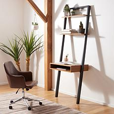 Safavieh Kamy 2-Shelf Leaning Desk