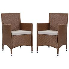 Safavieh Kendrick Set of 2 Casual Outdoor Chairs